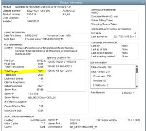 ^ F2 Screen in QuickBooks Desktop