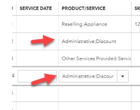 Discounts in QuickBooks Online Using Items