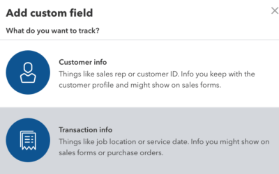 Using Custom Fields in QuickBooks Online Advanced to Track Liability Insurance Certificate Expirations