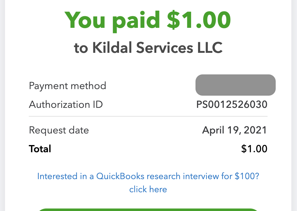 Payment Links in QuickBooks Online